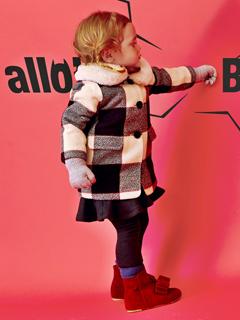 《Allo lugh》18-19秋冬韩国童装广告大片