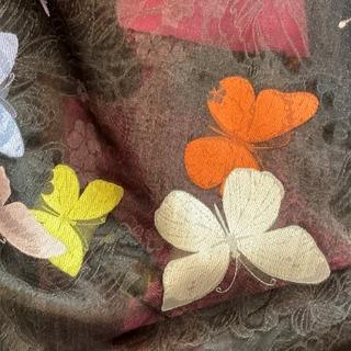 大湾区服装服饰博览会 混纺 化纤 印花 昆虫 蝴蝶