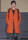2015春夏纽约男装时装周趋势速递--印花长裤