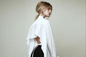 女装趋势速递--解构式衬衫