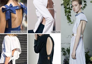 女装趋势速递--露背设计