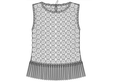 2017春夏女裝設計開發--梭織上衣