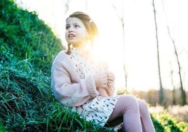 17/18秋冬女童毛衫图案趋势预测--花式纱线