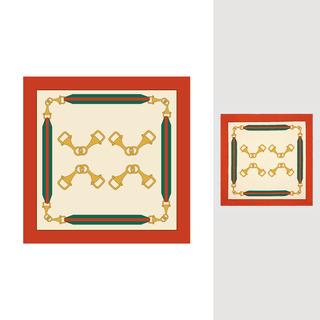 矢量圖 eps 滿身圖案 GUCCI圍巾 金屬鏈條 織帶 LOGO 奢侈 大牌圖案 休閑風 復古風 職場風格