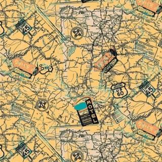 矢量图 eps TA12 插画 局部图案 地图 徽章 航海风格 休闲风