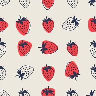 矢量图 eps 水果 四方连续 满身图案 卡通