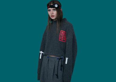 首尔本土设计师HONG BUM KIM,通过参?#21360;瓹ONCEPT KOREA'活动,成为了闻名海外的韩国设计师。CRES.E DIM以运动风格打出一片天下,加上帅气女孩的个性元素以及多变的廓型设计赋于设计更多的活力。
