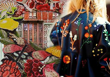 《APM29》女裝--都市新朋克之重工刺繡(工藝)