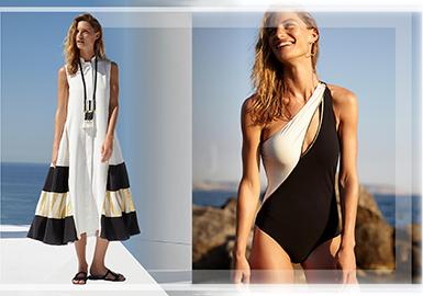 ZEUS + DIONE是Mareva Grabowski和Dimitra Kolotoura2012年创立的希腊泳装品牌,品牌名是以古希腊神话人物宙斯Zeus和冰海女神Dione的名字命名的,Zeus和Dione一起生下了美丽和永恒的青春女神阿佛洛狄忒Aphrodite即维纳斯。品牌创始人Mareva Grabowski和Dimitra Kolotoura曾在希腊各地旅行,寻找民间被遗忘和没落的手工业者和工厂,将希腊传统手工、古希腊古典文化与现代时尚相结合,使服装整体干净简约,又充满了浓郁的民族特色。也是两位创始人在用她们的行动诠释和延续那个曾经辉煌的古希腊文明留下的宝贵财富。在2018度假系列中奥德赛(Odyssey:讲述特洛伊战争中取胜及返航的历险故事)是整个系列的主题。这季选在爱琴海表达一种进行旅程后的身心回归的生活状态。