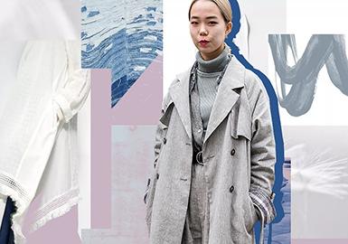 从Read me、AUM、MU的春季橱窗与店铺陈列可以看出,大地色系和黑白灰依然是棉麻产品的青睐色。