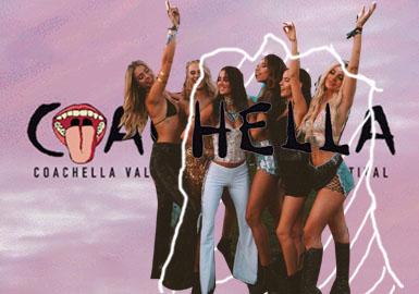 全球时髦人最密集的音乐节--Coachella,一场盛大的听觉盛宴,当红的年轻模特儿与部落客齐聚一堂。这里既有穿搭达人,忠实乐迷,又有身材火辣的超模和博主,7个当下最应该尝试的流行趋势,赶快Get今年夏天的时髦穿搭吧。