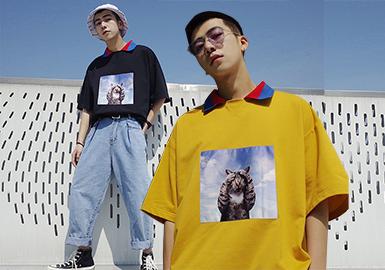 2020春夏男装组货搭配--新式Polo衫