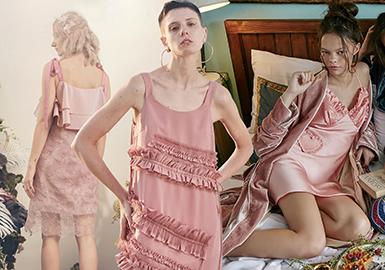 2020春夏女装家居服廓形趋势--少淑吊带连衣裙
