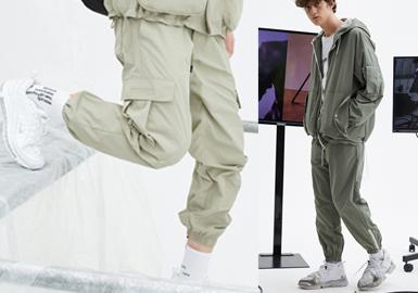 2020春夏男装廓形趋势预测--机能裤装