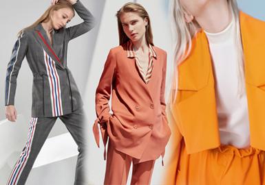 2020春夏女装西装廓形趋势--颠覆重组