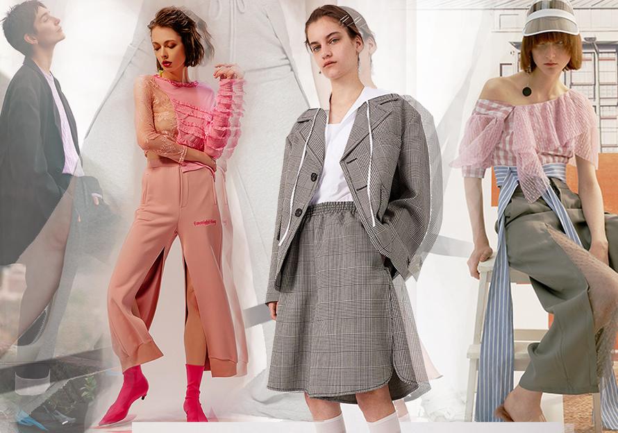 2020春夏女裝褲子廓形趨勢--忙里偷閑