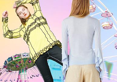 2020春夏女装毛衫色彩趋势--冰激凌色系