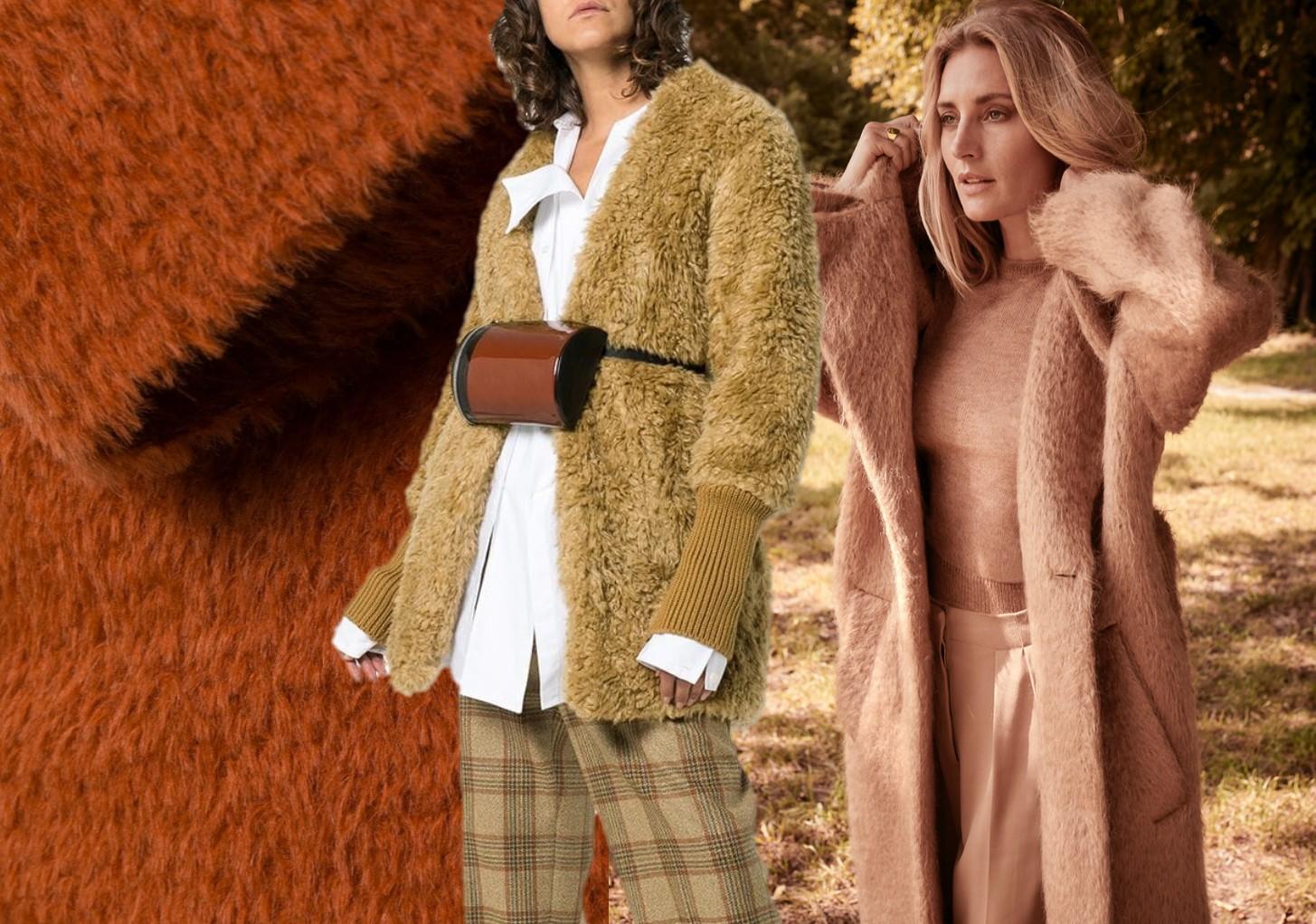 綜述 盤點冬季的面料,毛呢面料是常規不錯的選擇。但是今年的大衣在選材上出現了不少新的變化,阿爾巴卡以其柔軟,輕便,保暖性強,成為首選!燈芯絨,精紡格紋毛料,泰迪絨,短絨繡花都是今年的大熱材質!