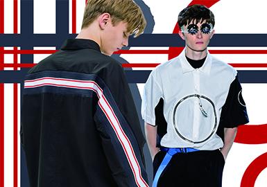 2020春夏男装廓形趋势预测--设计感衬衫