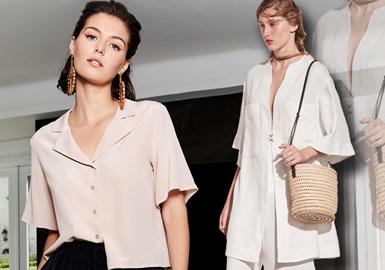 2020春夏女装衬衫廓形趋势--现代外观