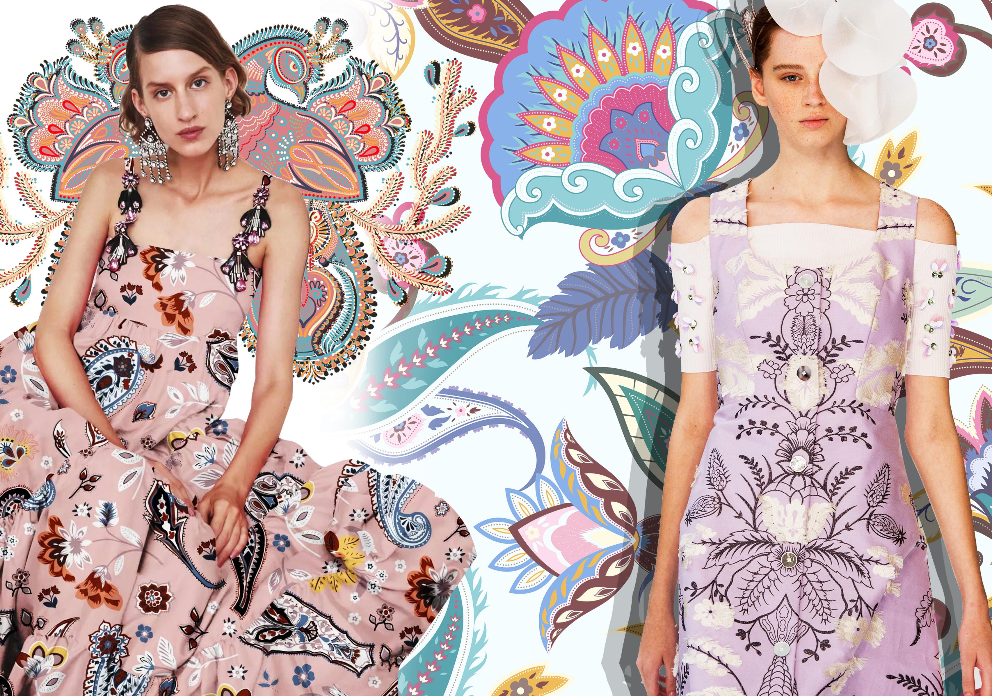 2020春夏女装图案趋势预测--民俗新貌
