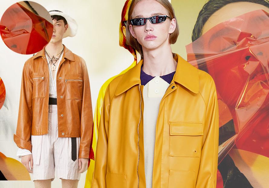 2020春夏男装皮衣廓形趋势预测--休闲皮衣
