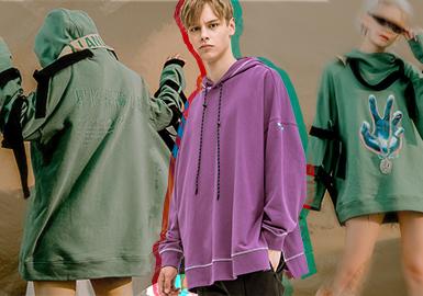 2020春夏男装廓形趋势预测--微潮卫衣
