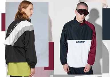 2020春夏男装组货搭配--复古运动夹克