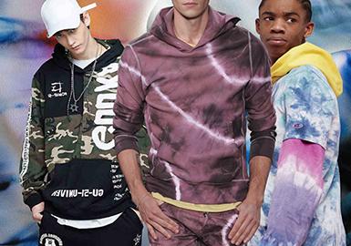 2020春夏男装针织面料趋势预测 -- 新潮卫衣