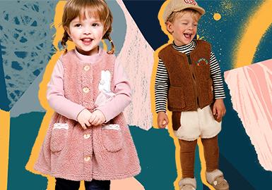 milkmile、BEBE DE PINO、Agabang、ETTOI、Minkmui、moimoln这六个韩国婴幼童品牌,在延续了以往可爱俏皮的款式的同时,本季在面料、细节上有了更丰富的变化。