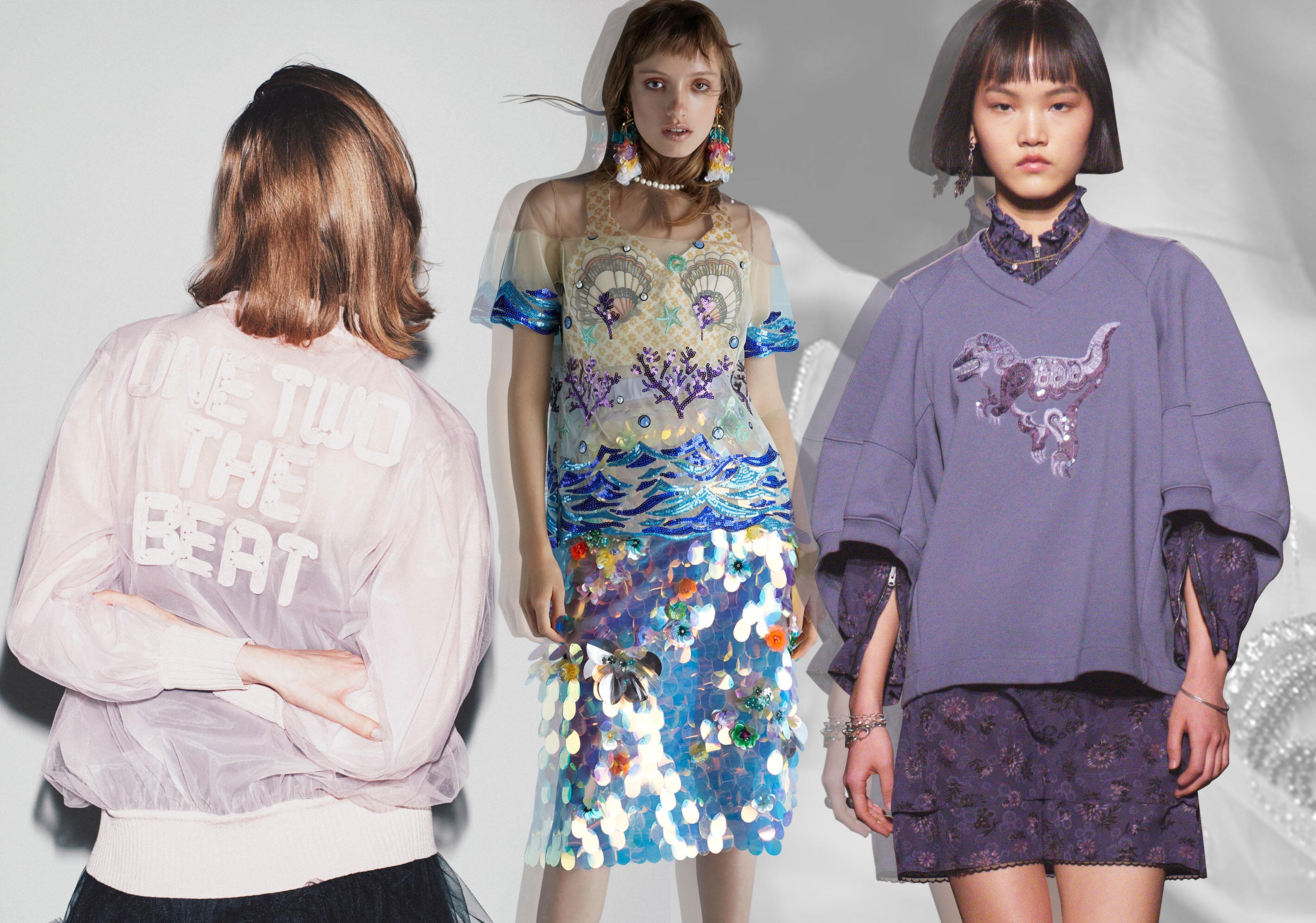 2020春夏女裝圖案工藝趨勢預測--少女微潮