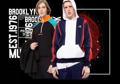 2020春夏男装廓形趋势预测--微潮复古卫衣