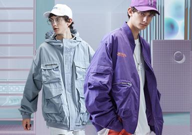 2020春夏男装廓形趋势预测--潮牌口袋夹克