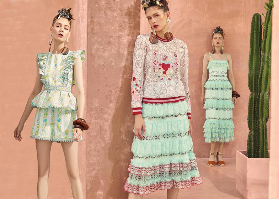 Disaya是泰国独立同名设计品牌,设计很有趣,各种印花、刺绣图案极为精致,同时兼顾了优雅、淑女以及孩子气。