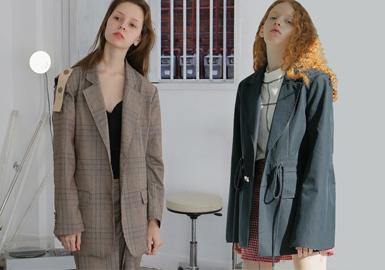 2019春夏西裝的設計中,西裝輪廓的外套營造更加輕熟、優雅的風格,細節的設計增添時尚感,簡約的通勤穿法,減弱正式感,多了份高級感。