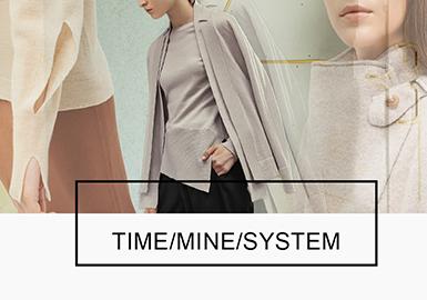 THE HANDSOME旗下有TIME、MINE、SYSTEM三个主要中大淑品牌线,无论是从纱线的选取上,还是结构剪裁,或者针法运用,这几个品牌的细针毛衫款式都非常出彩,很值得关注,POP一直对其进行跟踪报告,而在18/19秋冬季它们的毛衫款又将进行怎样的新点设计呢?