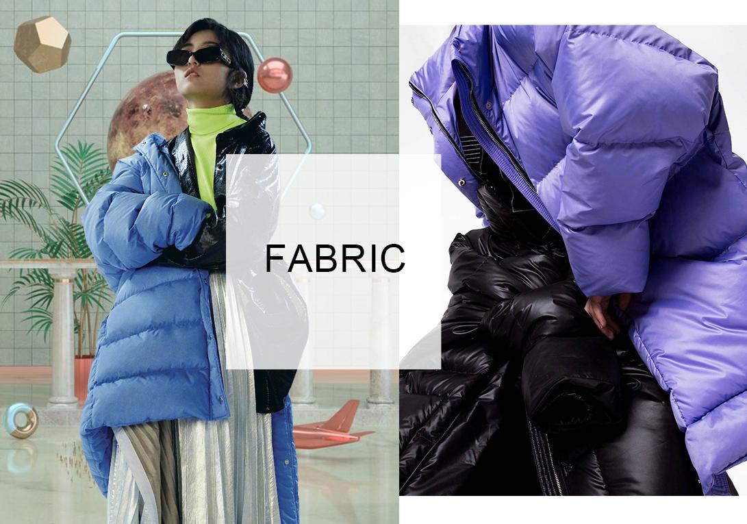 科技&微潮-女装棉羽绒服面料趋势