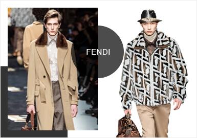 Fendi正裝的設計及剪裁工藝重新融入新一季產品既保持了一貫的時髦精神,又在舉手投足間添上莫名吸引力。