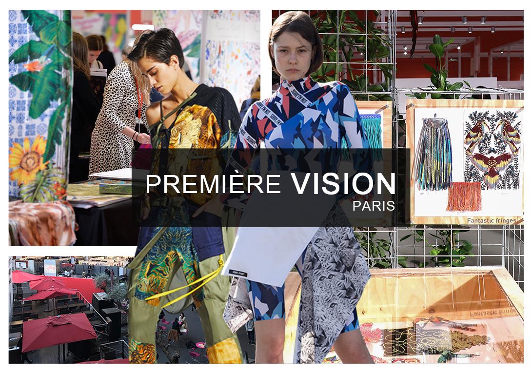 巴黎Premiere Vision Designs展会如约在初春二月召开,2020春夏通过运动主题论坛方式来造势,滑板手的炫技来揭示醒目活泼的正能量印花和图案的主题方向,热带印花创新回归,与运动风完美融合,最具代表性的柑橘等热带水果印花演化出本季清新活力的新图形,扭曲排列组合的几何图案更是引出最具创意的密铺设计,绚丽的木槿图案以醒目双色呈现,平面矢量花朵加入迷幻元素,让花卉图案运动科幻起来。
