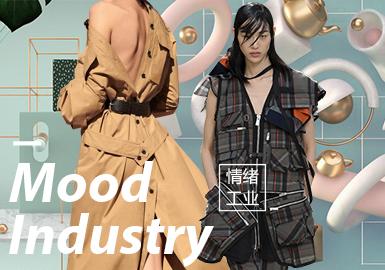 情绪工业--2020春夏女装主题面料趋势预测