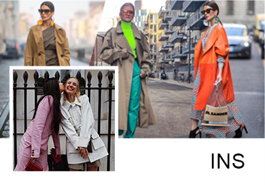 不一样的时尚潮流单品,结合相同感受的西装和风衣外套;穿出独有的风格感受,同时瞬间提升你的气场掌控全场!