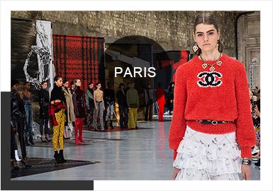 巴黎時裝周向來是全球四大時裝周的壓軸,相較于紐約的商業化、米蘭的精湛工藝、倫敦的個性大膽,巴黎則更加多元化,吸納全世界的時裝精英匯聚于此。19/20秋冬的巴黎時裝周浪漫、陽光且充滿熱情,時尚又吸睛,對于顏色和圖案的運用讓人眼前一亮,跳躍又不失輕松。