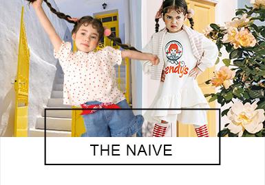 来?#38498;?#22269;的女童品牌the naive,致力于打造小大人款女童服装。19ss的the naive,从女装中提取流行要点,呈现了集淑女、俏皮、甜美、都市等多种风格为一体的小大人造型。