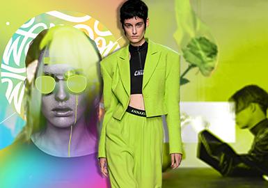 新熒綠--2020春夏女裝主題色彩趨勢預測