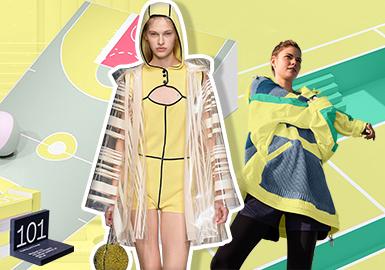 向陽黃--2020春夏女裝主題色彩趨勢預測