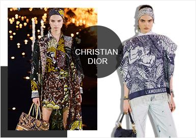 北京時間 4 月 30 日凌晨 3:00 Dior在摩洛哥發布了2020早春系列,拉開了今年品牌早春季的序幕。場地選在建于16世紀的El Badi Palace,曾經的皇室宮殿,現在是旅游景點。現場的篝火、水池里的蠟燭、異域風情的表演者們都帶來強烈的非洲文化特色,一場融合了傳統、地域、文化和技藝的奇幻盛宴拉開序幕。