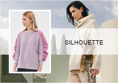 簡約衛衣--女裝毛衫廓形趨勢