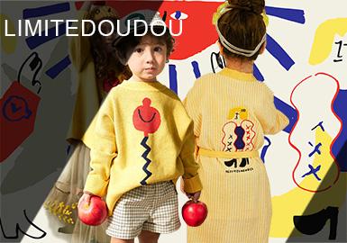 來自韓國的設計師品牌Limitedoudou,以新奇有趣的插畫圖案和別致的款式造型深受大眾喜愛,每一季Limitedoudou都會與插畫師合作打造不同的系列,趣味十足的圖案搭配俏皮可愛的韓版款式,實用百搭的同時又極具新意。