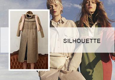 無束暢享廓形—女裝連衣裙廓形趨勢