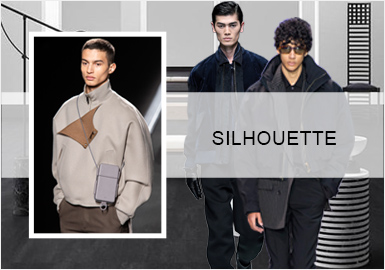 商务时尚--男装夹克廓形趋势